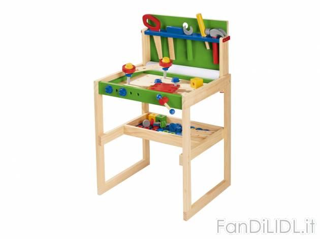 Tavolo Da Lavoro Lidl : Gioco banco da lavoro per bambini fan di lidl