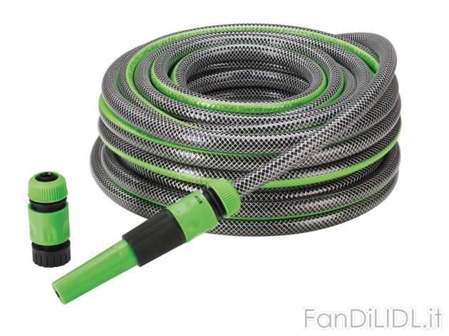 Set tubo per irrigazione giardino fan di lidl - Prezzo tubo irrigazione giardino ...