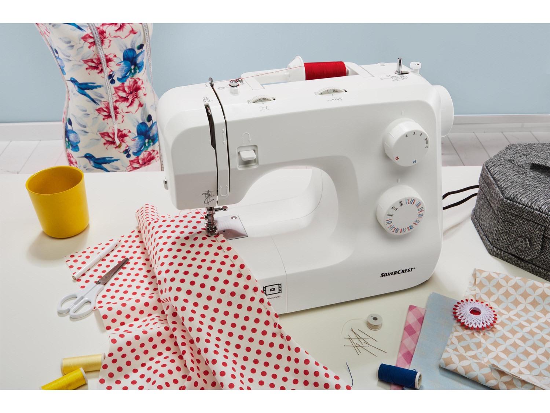 Macchina da cucire sartoria cucire vestiti fan di lidl for Lidl offerte della settimana macchina da cucire