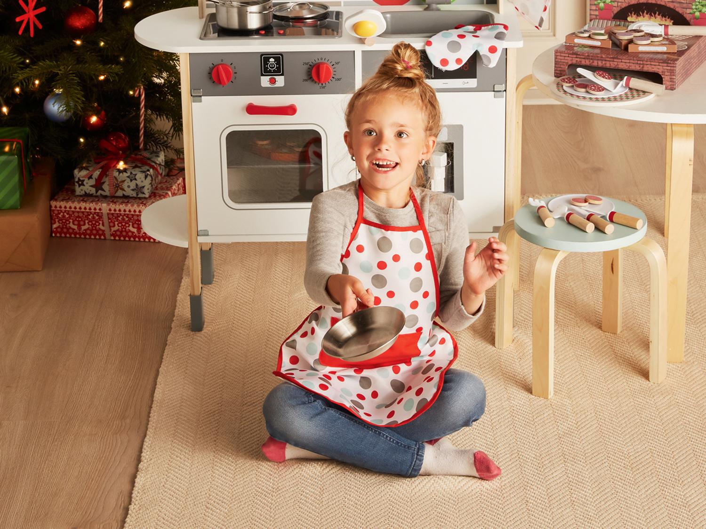 Cucina Giocattolo In Legno Per Bambini Abbigliamento Vestiti Giocattoli Fan Di Lidl