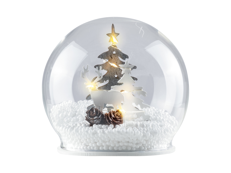 Decorazioni Natalizie A Led.Decorazioni Natalizie In Legno Con Led Feste Regali Babbo Di Natale Fan Di Lidl