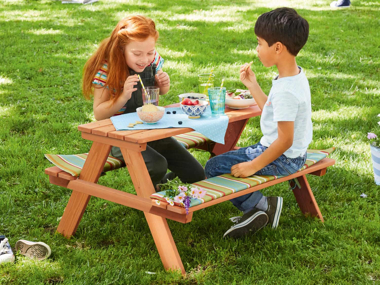Tavolo con panche, Giardino Fan di Lidl